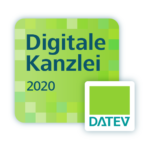 Logo Digitale Kanzlei 2020 von DATEV für Steuerberatung Braun ist Digitale Kan