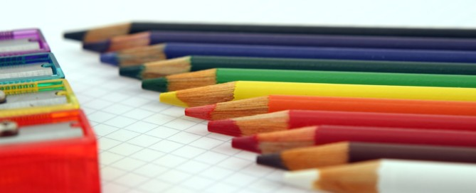 Bleistifte mit Spitzer