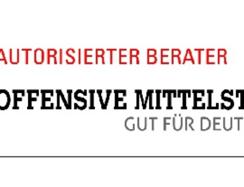 Sven Braun zum Berater Offensive Mittelstand bestellt