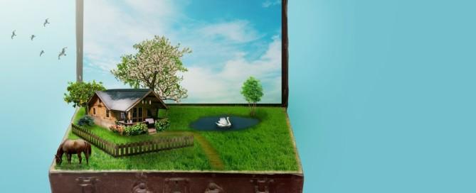 Haus im Koffer