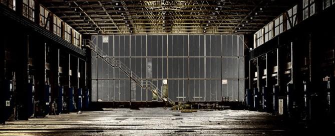 leere Industriehalle