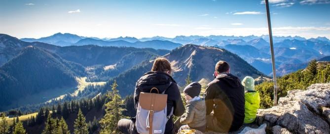 Gipfel Panoramablick
