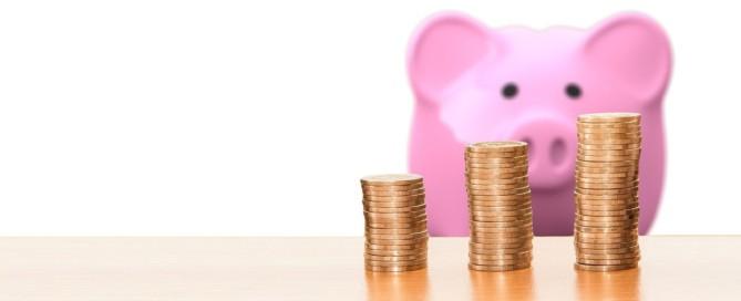 Steuer Sparschwein
