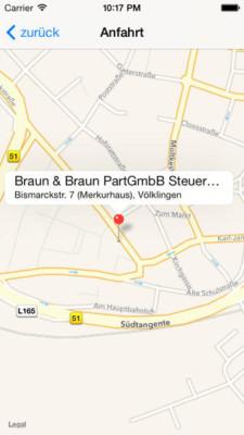Standort Völklingen Braun & Braun PartGmbB Steuerberatungsgesellschaft