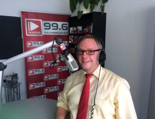 Interview mit Sven Braun auf Radio Saarbrücken UKW 99,6